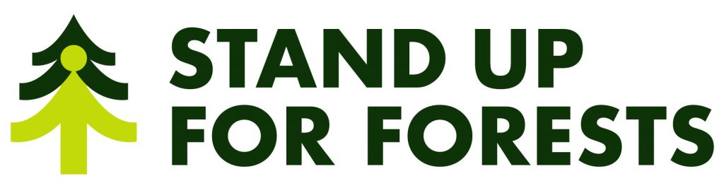 Stand Up for Forests logo