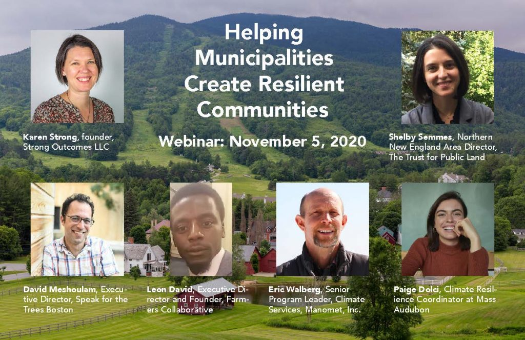 Helping Municipalities Create Resilient Communities