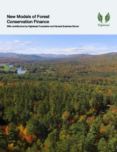 Two Working Papers Explore Conservation Finance